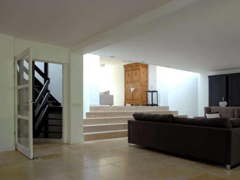 Overdekte veranda en verbouwing van de woning