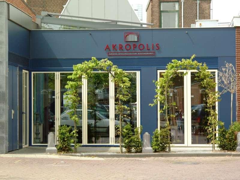Grieks restaurant uitgebreid en gemoderniseerd