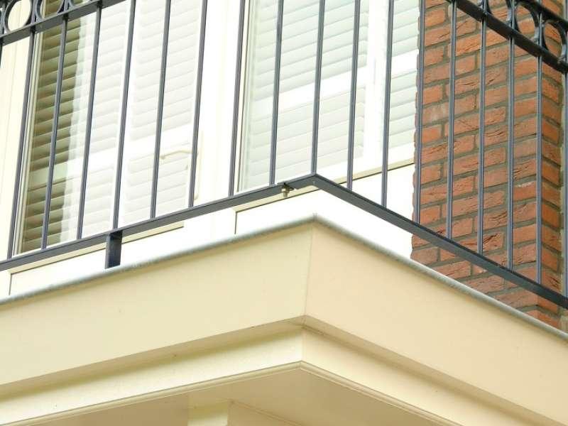 Notariswoning met balkon