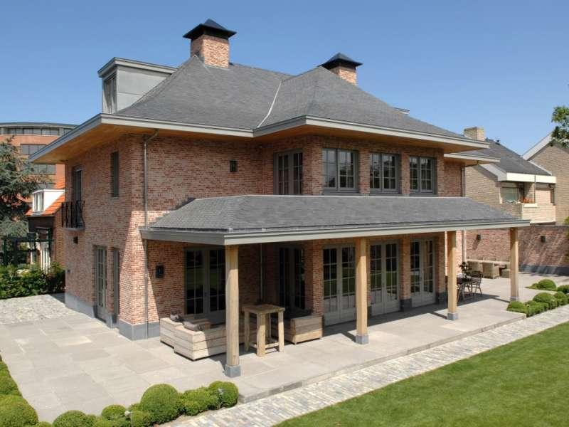 Klassieke woning in Belgische stijl