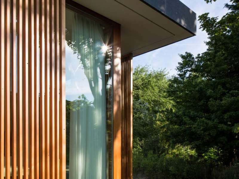Moderne villa in de duinen