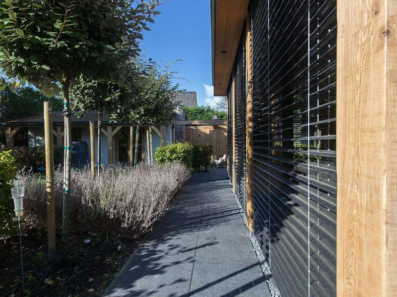 Eikenhouten uitbreiding woonhuis