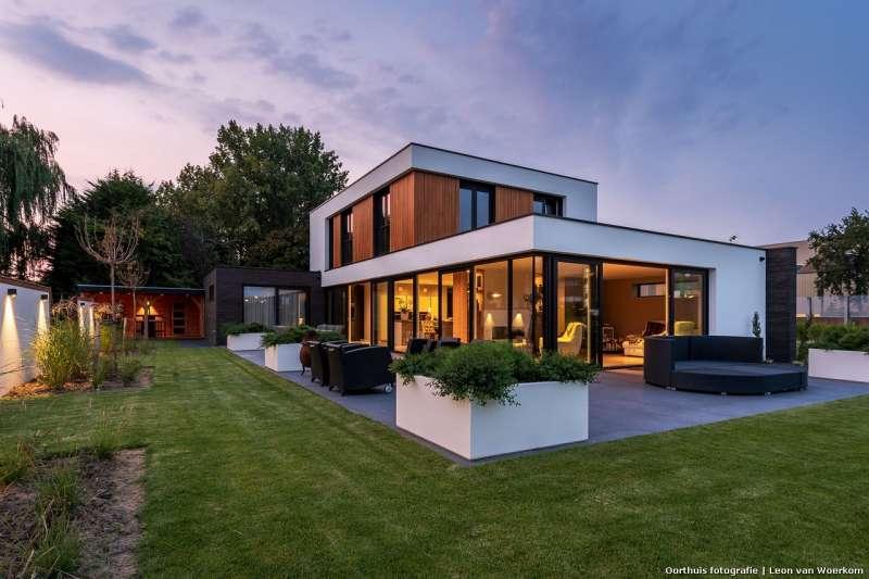 Exclusieve villa met imposante entree